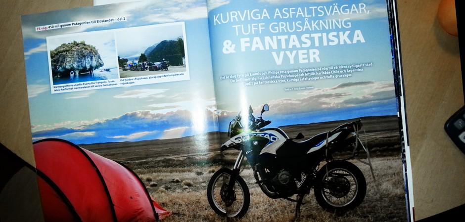motorrad patagonien reportage