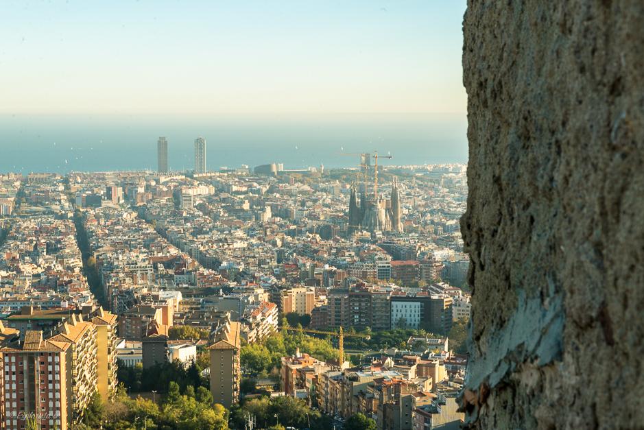 the bunkers - utsikt över barcelona