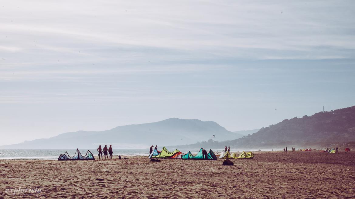 los lances kitesurf-strand
