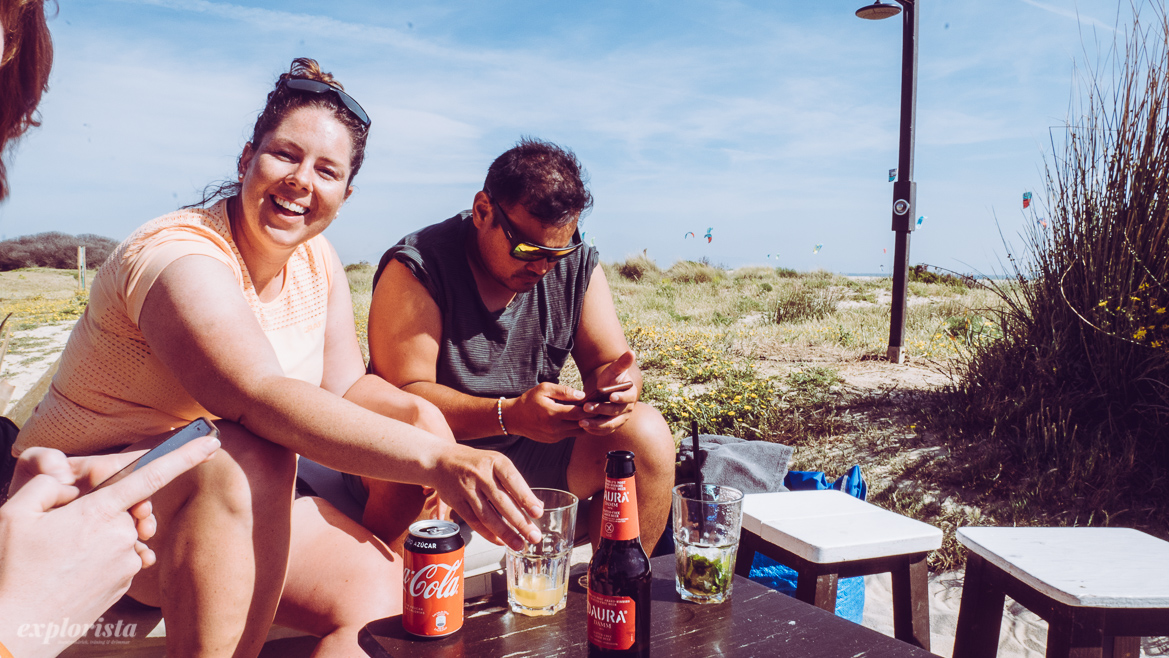 sara och danny after surf