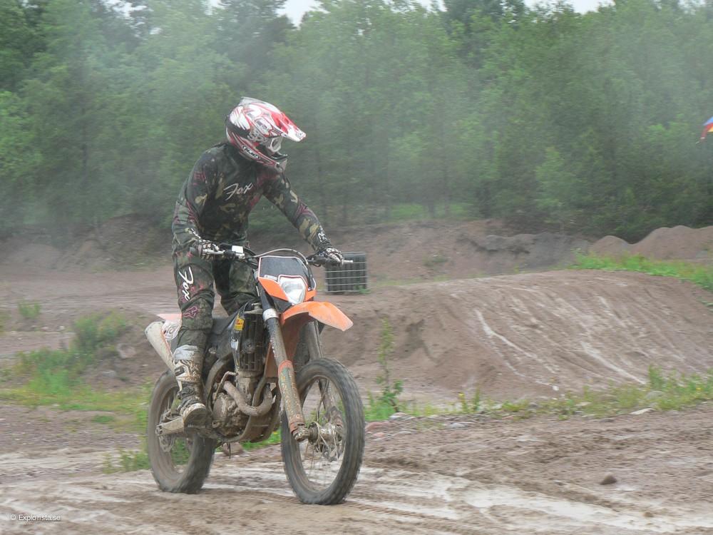 tjej motocross