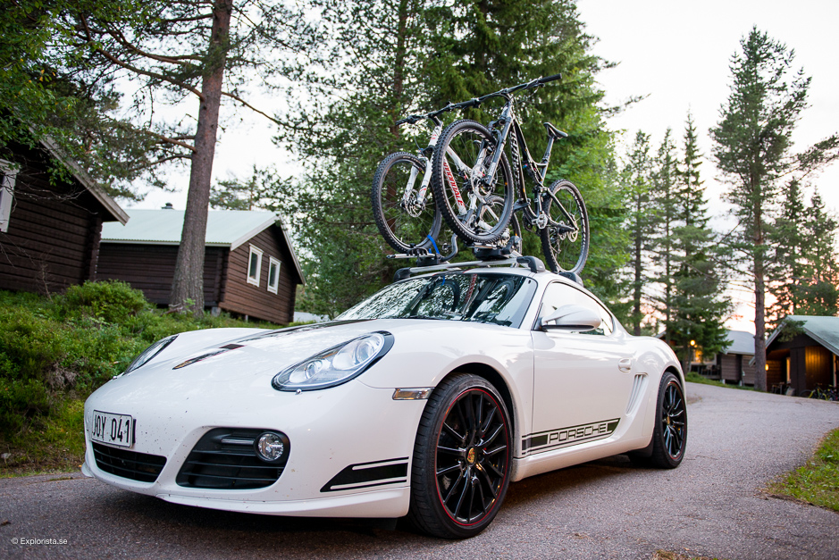 porsche med mountainbikes