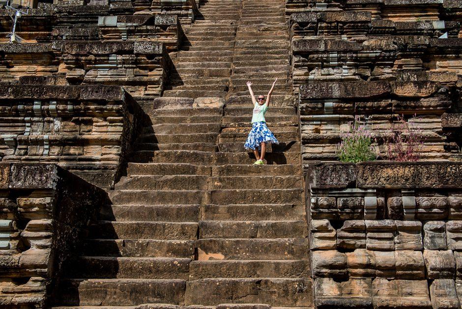 tempeltrappa tjej