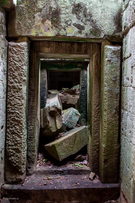 inrasade stenar tempel ta phrom