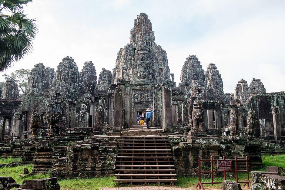 bayan tempel i kambodja