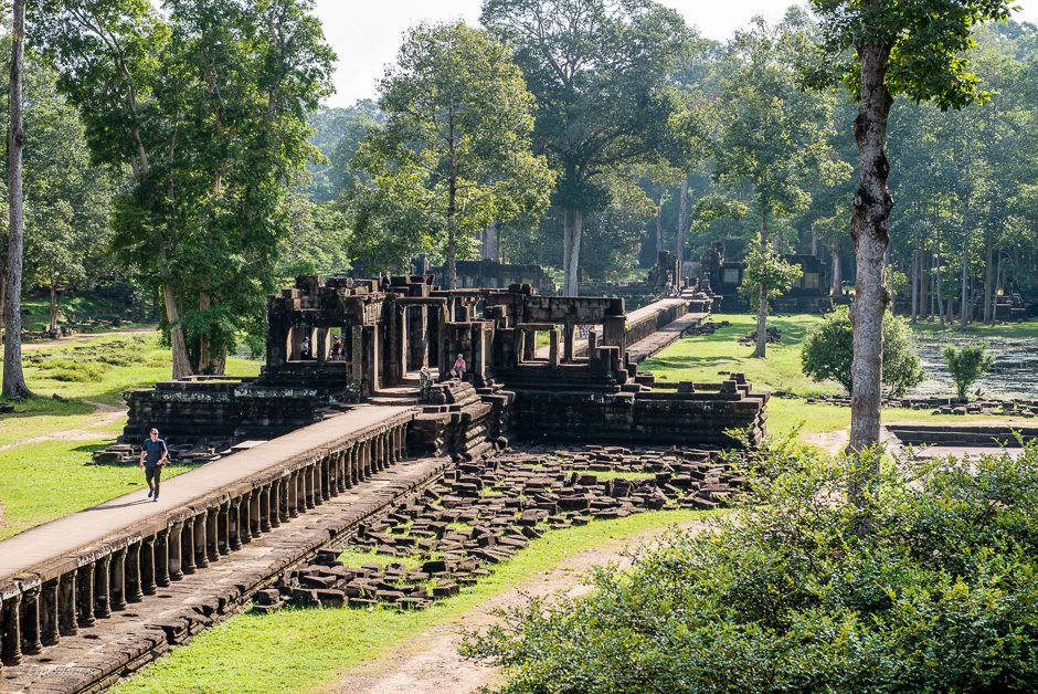 buddhistisk tempelruin kambodja