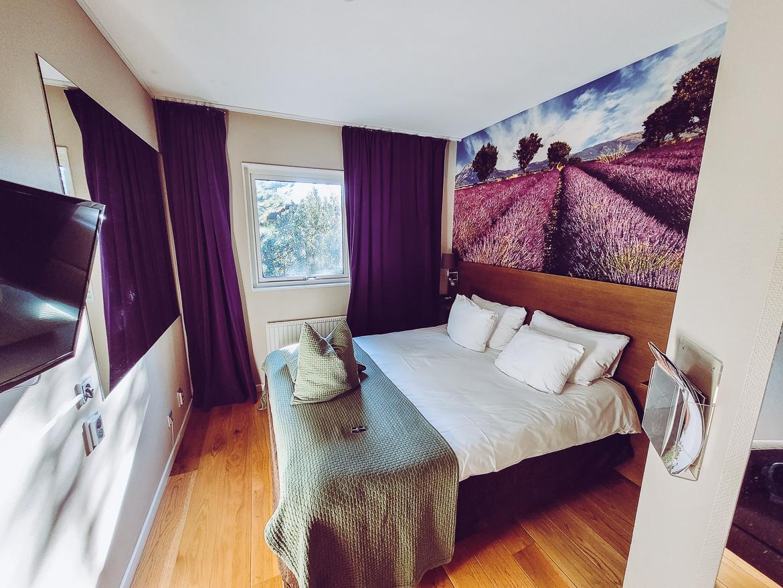 Arken spa i Göteborg - hotellrum