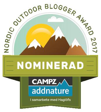 nordic outdoor blog awards nominerad explorista.se