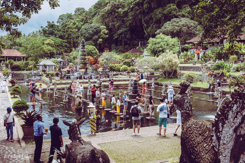 Tirta Gangga vattenträdgård Bali