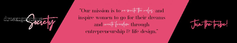 Dreampreneur Society mission