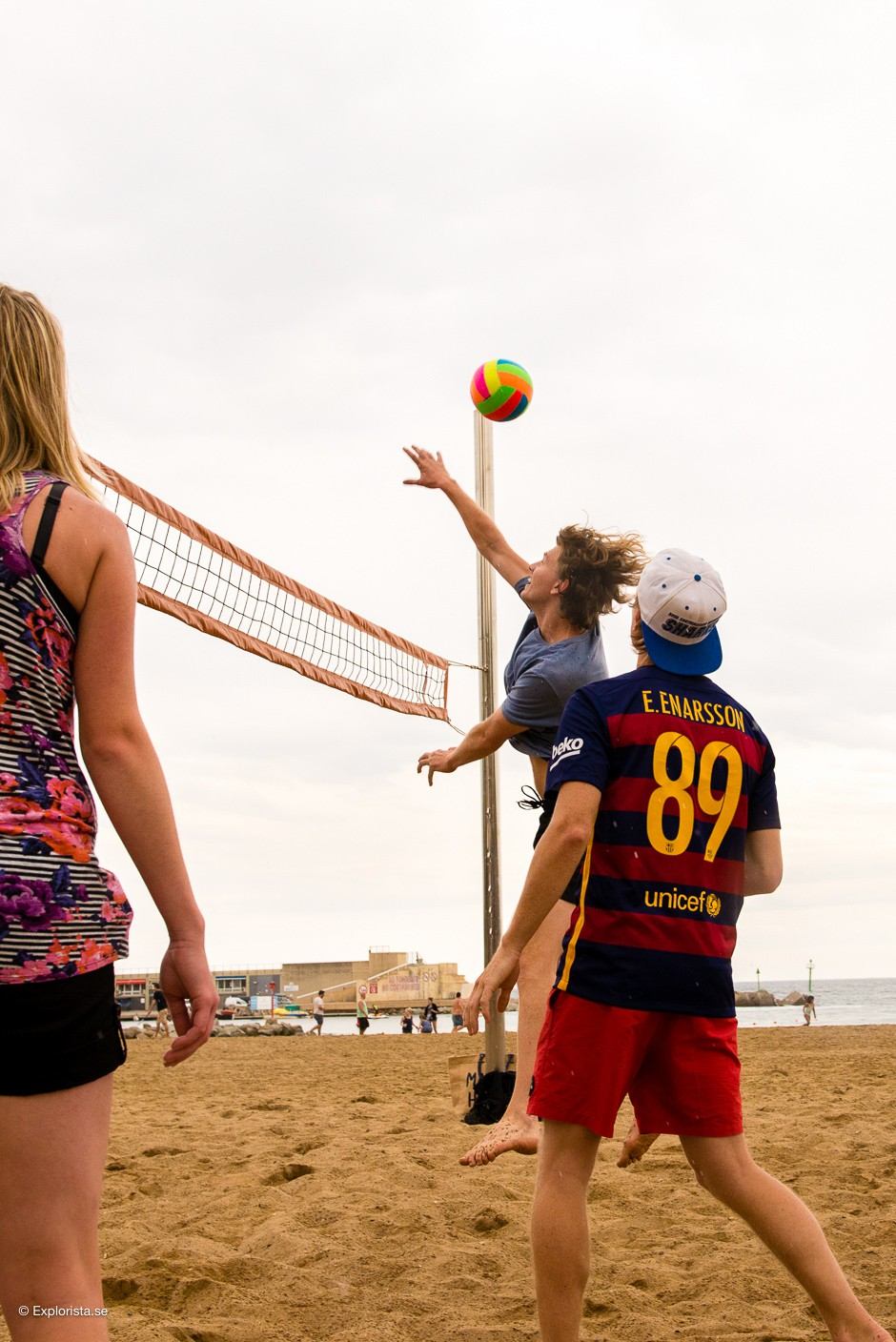 beachvolley barceloneta