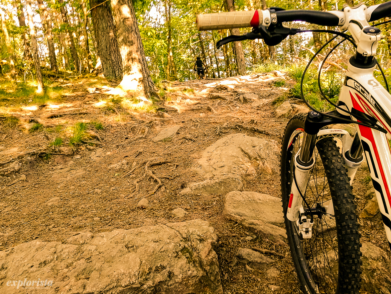 mountainbikespår skatås