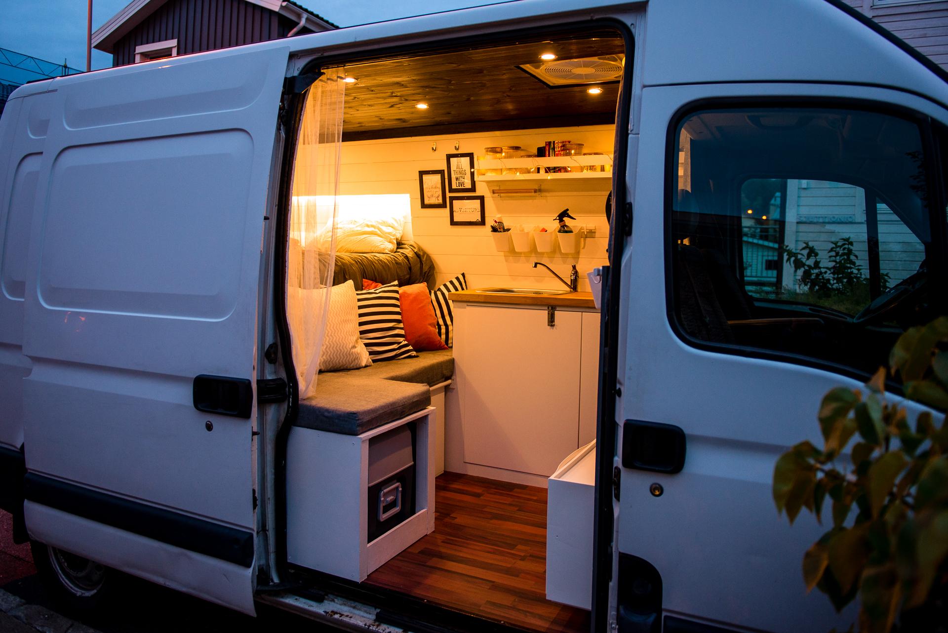 att bygga en campervan
