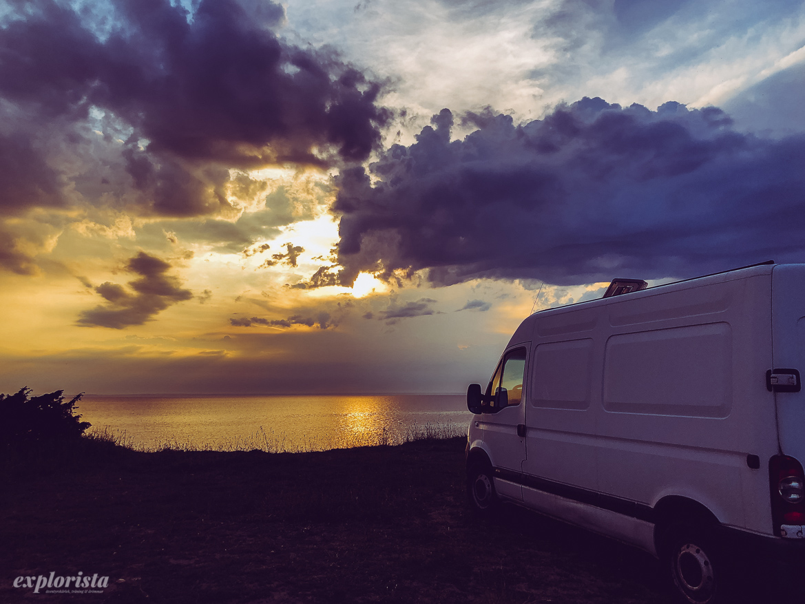 sunset van