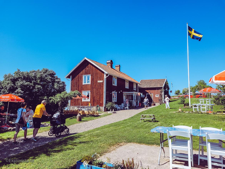 Café Kleven utanför Gränna