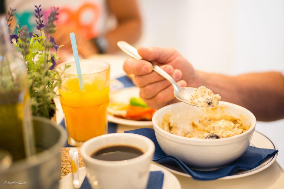 yoghurt och honung