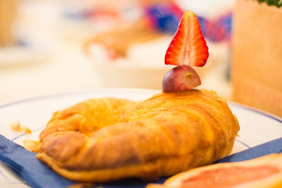 croissant jordgubbe