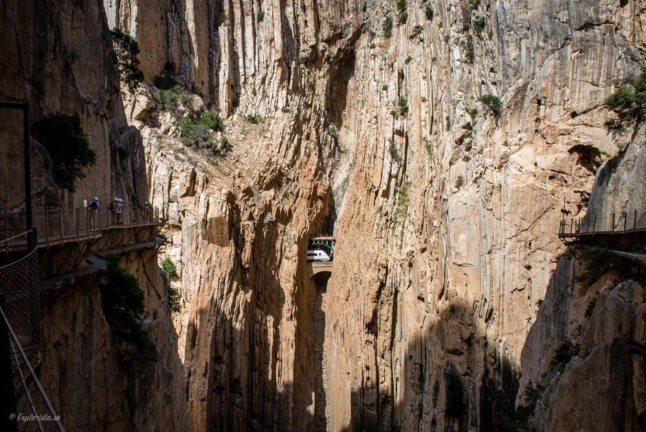 tåg i berg spanien