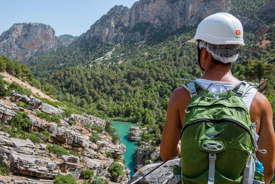 utsikt vandring spanien