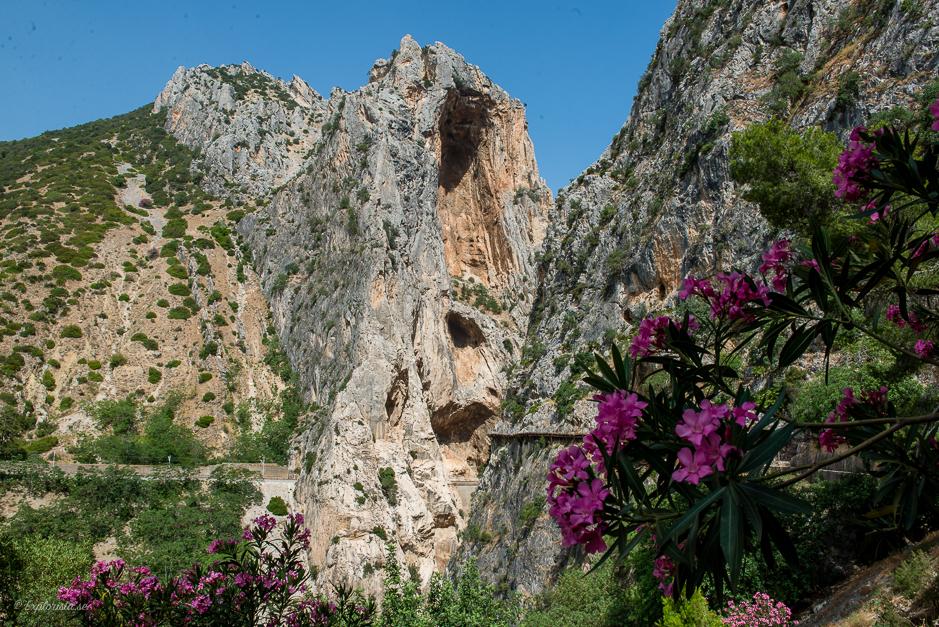 utsikt bergsvandring spanien