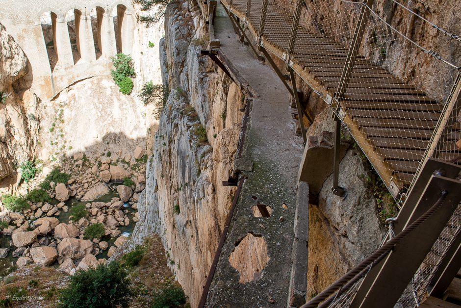 världens farligaste gångväg