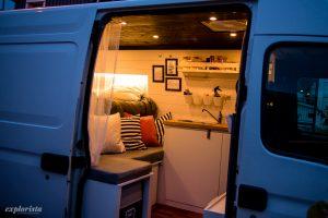 belysning i campervan