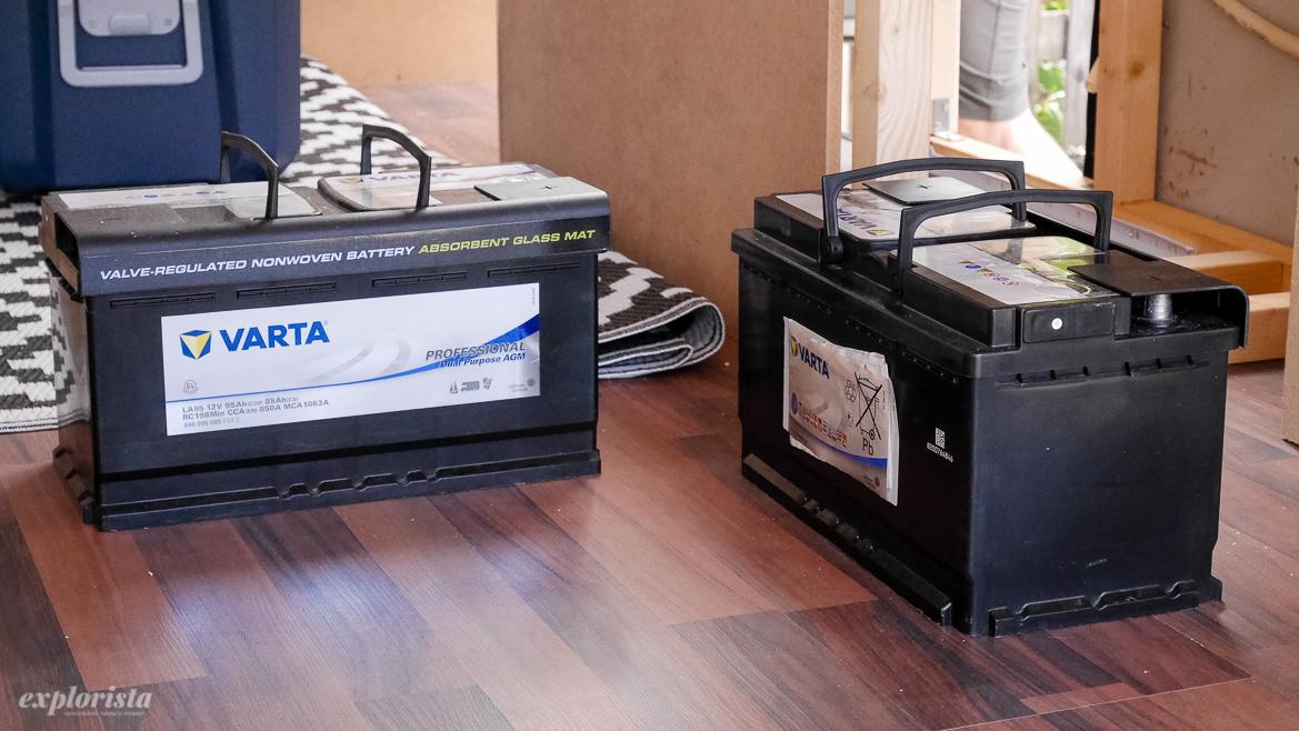 bilbatterier till campervan