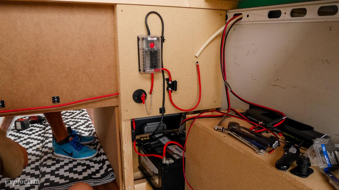 kit med splitrelay campervan