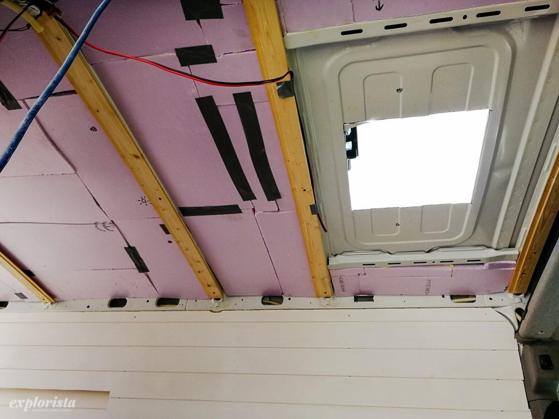 campervan panel och tak