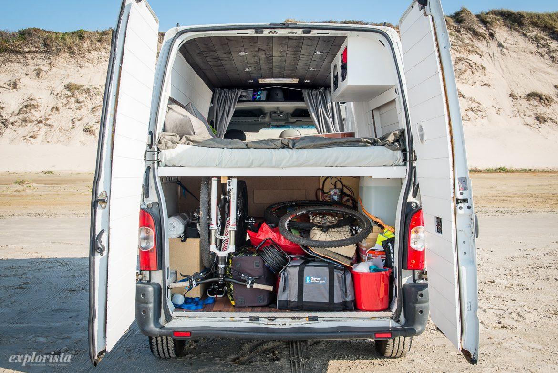 garage i campervan