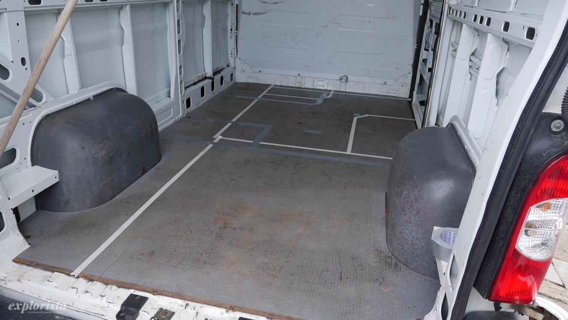 layout campervan