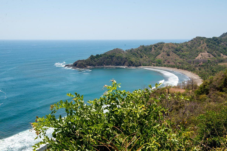 utsikt över strand