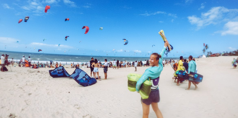 Explorista Cumbuco kite parade