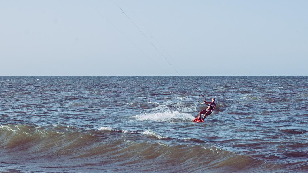 cumbuco beach brasilien kitesurfare