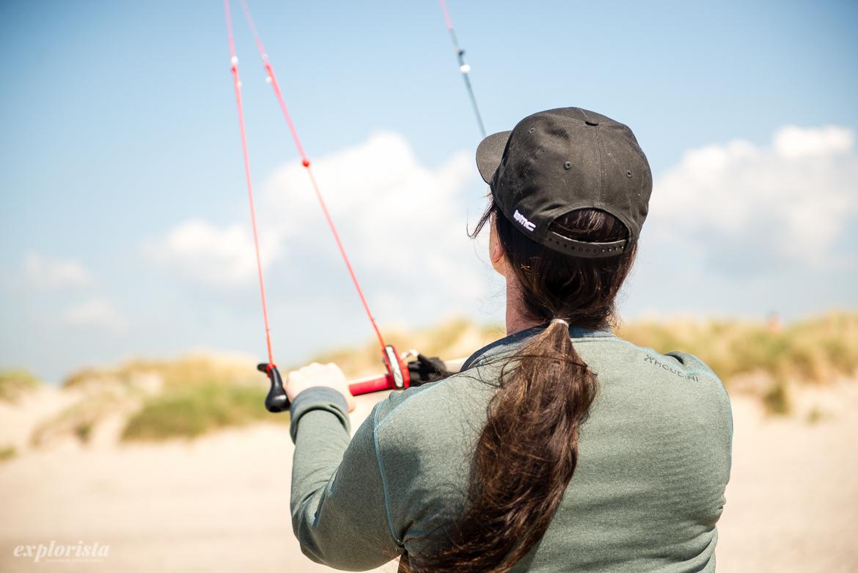 sara och trainer kite