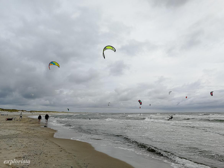 kitesurf hav hvide sande danmark