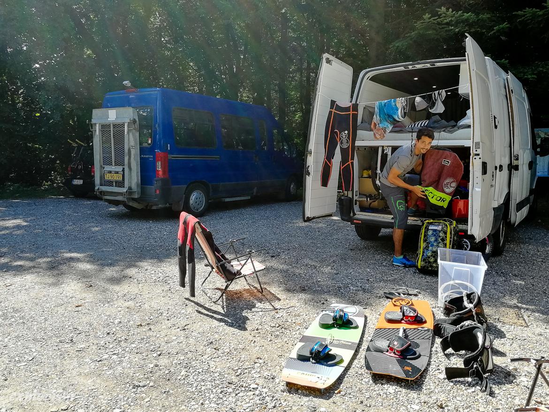campervan packning