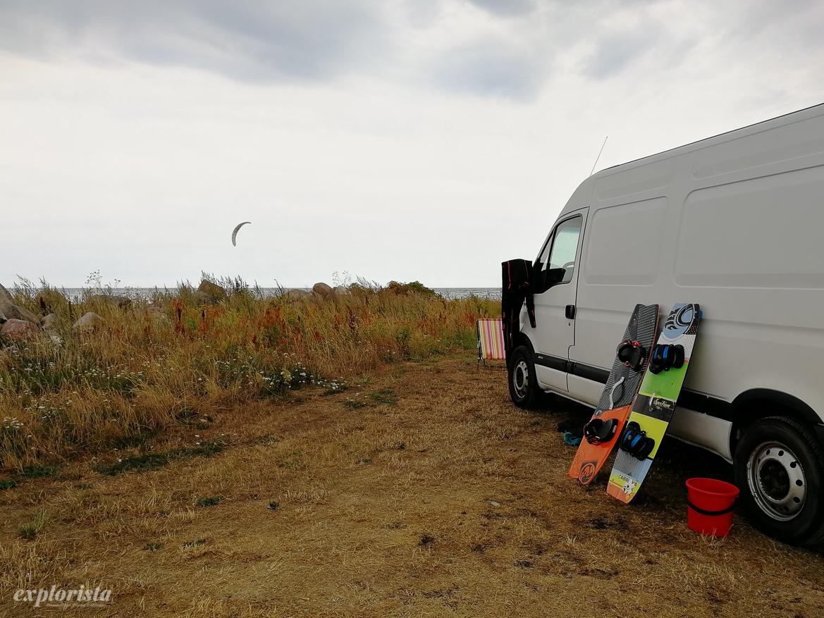 campervan kitesurf