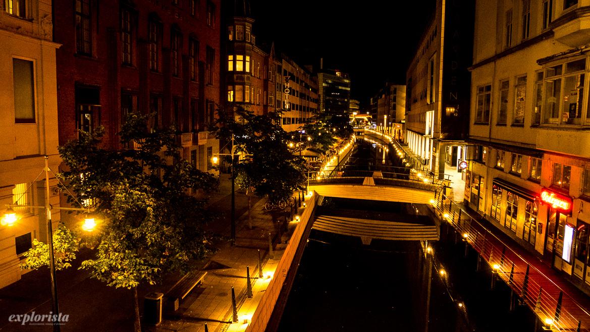 århus by night