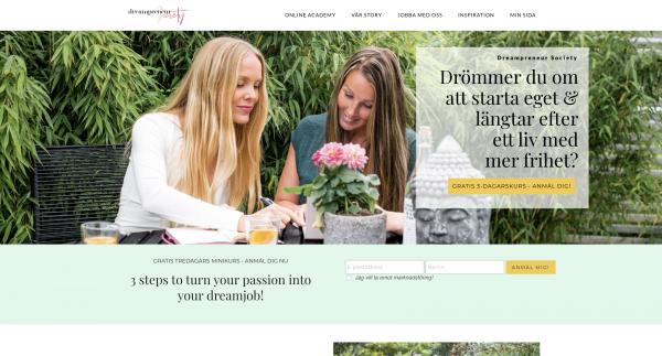 Dreampreneur Society screenshot