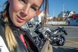 explorista motorcykel
