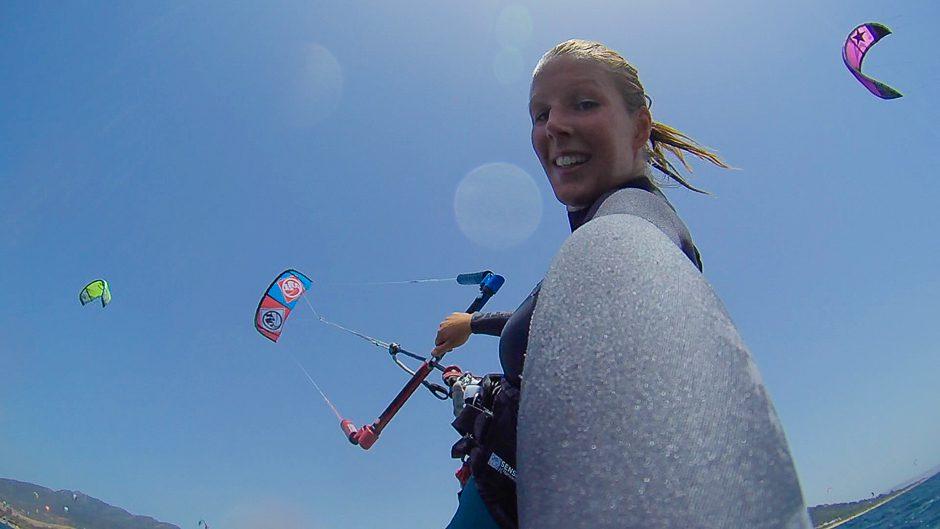 kitesurfwoman explorista tomtom bandit