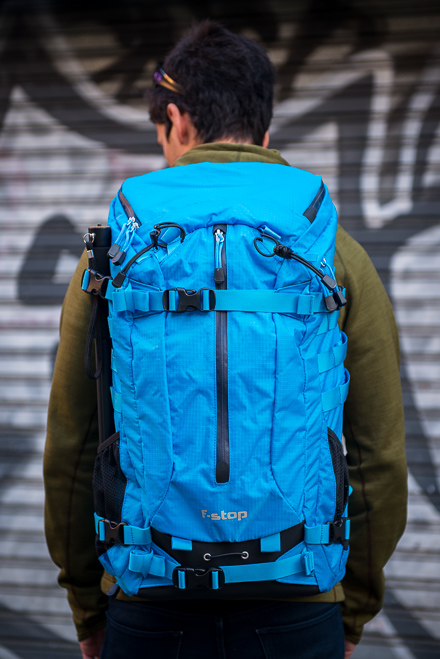 f-stop loka photo backpack malibu blue