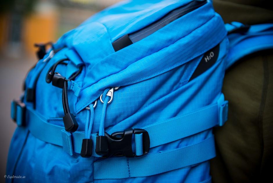 detaljer ryggsäck