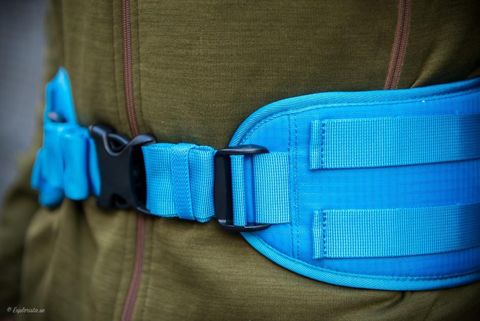 avbärarbälte ryggsäck f-stop