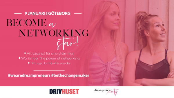 Dreampreneur society event - Become a networking star!