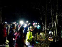 NIGHT TRAIL RUNNING MED FOREST FEMMES
