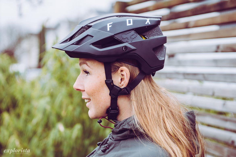 Fox Flux MIPS mountainbikehjälm passform