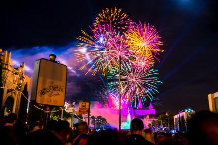 fireworks barcelona la merce