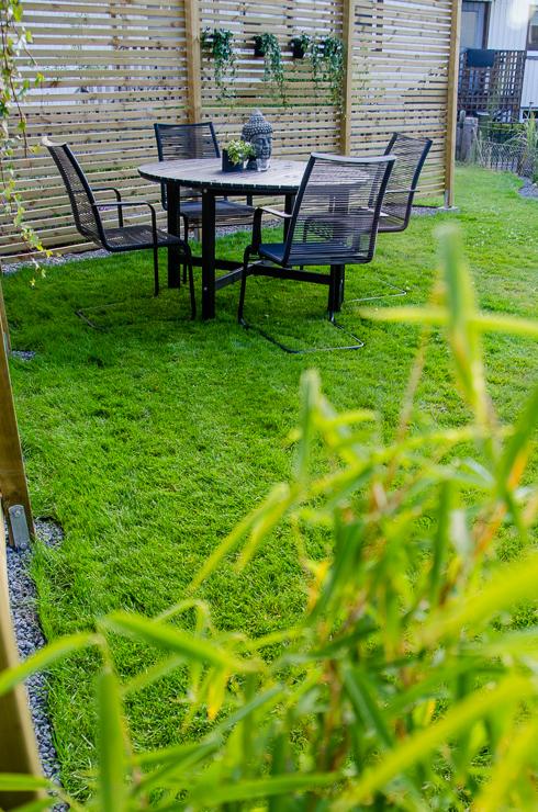 trädgårdsbord bambu